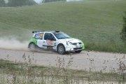 Ralio trasoje Igno Taletavičiaus ir Dariaus Augūno ekipažas iš Lietuvos su automobiliu Renault Clio