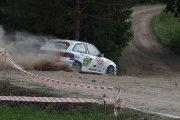 Ralio trasoje Justo Tamašausko ir Stasio Tarailės ekipažas iš Lietuvos su automobiliu Opel Astra