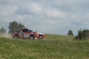 Ralio trasoje Dovilo Čiutelės ir Aleksandro Dainio ekipažas iš Lietuvos su automobiliu Lada 2105 VFTS