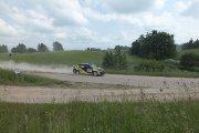Ralio trasoje Dmitry Feofanov ir Normunds Kokins ekipažas iš Rusijos su automobiliu Mitsubishi Lancer EVO IX