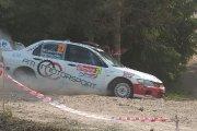 Ralio trasoje Tomasz Kochanski ir Maciej Machela ekipažas iš Lenkijos su automobiliu Mitsubishi Lancer