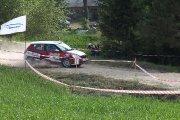 Ralio trasoje Jono Pipiro ir Mindaugo Čepulio ekipažas iš Lietuvos su automobiliu Škoda Fabia R2