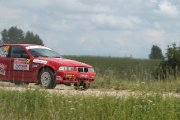 Ralio trasoje Dmitry Nikonchuk ir Alexander Potesov ekipažas iš Rusijos su automobiliu BMW M3