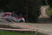 Ralio trasoje Toms Lielkajis ir Toms Pirktins ekipažas iš Latvijos su automobiliu Ford Fiesta R2