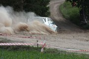 Ralio trasoje Lino Vaškio ir Lauryno Paškevičiaus ekipažas iš Lietuvos su automobiliu Mitsubishi Lancer EVO IX