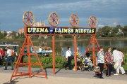 Utena - laimės miestas