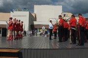 Aušros gatvės viešųjų erdvių atidarymo ceremonija