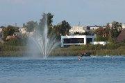 Gelbėjimo valčių pristatymas ir besidominčiųjų plukdymas Dauniškio ežere