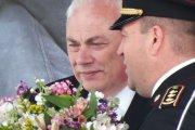 Gėlių puokštė Lietuvos Respublikos Prezidentei