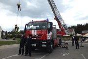 Vilniaus apskrities priešgaisrinės gelbėjimo valdybos aukštybininkų pasirodymas