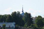 Kristaus Žengimo į dangų bažnyčia nuo Dauniškio ežero pusės