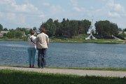 Prie Dauniškio ežero