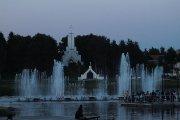 Dauniškio ežero fontanas