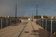 Pontoninis tiltas Dauniškio ežere