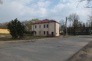 Pastatas J. Basanavičiaus ir Meldų gatvių kampe