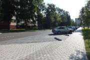 Sutvarkytos Aušros gatvės viešosios erdvės