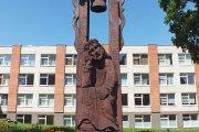 Stogastulpis prie Užpalių gimnazijos
