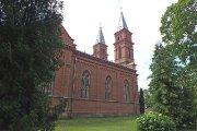 Užpalių Švč. Trejybės bažnyčia pastatyta 1898 metais