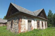 Užpalių dvaro akmeniniai tvartai pastatyti 1808 metais