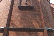 Bažnyčios galinė siena