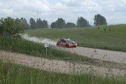 Ralio trasoje Ričardo Baubino ir Gedimino Saudargo ekipažas iš Lietuvos su automobiliu Honda Civic Type R