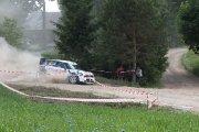 Ralio trasoje Derek McGeehan ir Arthur Kearns ekipažas iš Airijos su automobiliu Mini WRC