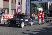 Startuoja Regimanto Raguočio ir Žygimanto Raguočio ekipažas iš Lietuvos su automobiliu VAZ 2106