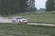 Ralio trasoje Sorokin Alexey ir Sorokin Evgenii ekipažas iš Rusijos su automobiliu VAZ 2101