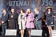 Utenos rajono savivaldybės vadovų ir miesto svečių sveikinimai gimtadienio proga