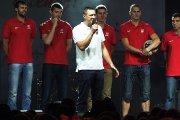 Krepšinio klubo ''Juventus'' klubo prezidentas Žydrūnas Urbonas