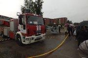 Ugniagesių gelbėtojų pasirodymas