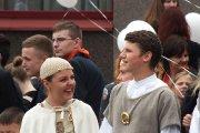 Šventės atidarymo ceremonijos dalyviai