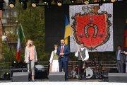 Iškilmingas šventės atidarymas ''Šimtmečio žiedas Utenai''