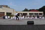 Karate klubo pasirodymas