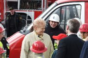 Lietuvos Respublikos Prezidentė Dalia Grybauskaitė bendrauja su visuomene