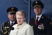 Kalba Lietuvos Respublikos Prezidentė Dalia Grybauskaitė
