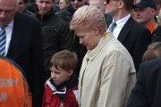Lietuvos Respublikos Prezidentė Dalia Grybauskaitė