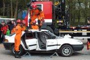 Lengvųjų automobilių avarijos inscenizacija