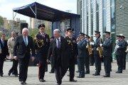 Einama pasitikti Lietuvos Respublikos Prezidentės