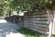 Buvusių karių kapinių tvora