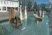 Lauko ekspozicija Utenio aikštėje