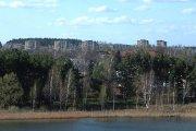 Utenos panorama nuo Vyžuonaičio ežero kalvos
