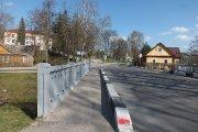 Tiltas per Viešos upelį K. Ladygos gatvėje