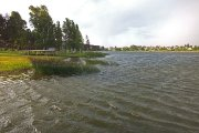 Dauniškio ežero bangos