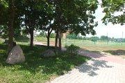 Prie Utenos Dauniškio gimnazijos stadiono