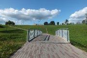 Tiltas per Utenėlės upelį Vyžuonos parke