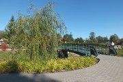 Tiltas per Krašuonos upelį parke prie Žalgirio gatvės