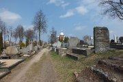 Kristaus Žengimo į dangų bažnyčia ir kapinės
