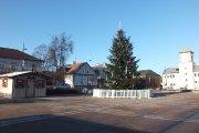 Kalėdinė eglutė Utenio aikštėje