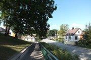 Dviračių takas ir Gedimino gatvė